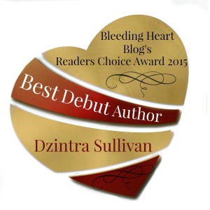 WINNER - Best Debut Author