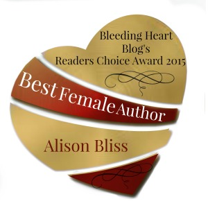 WINNER - Best Female Author